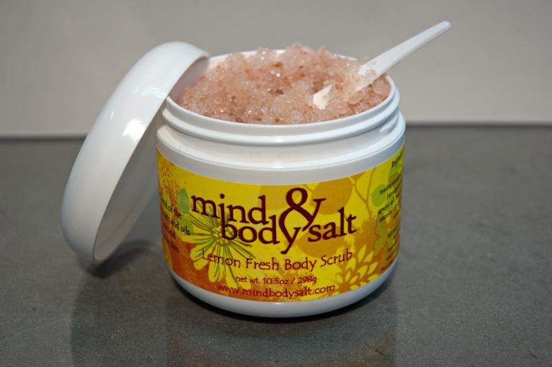 10 ounce tub of Lemon Fresh Body Scrub