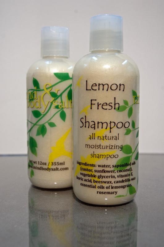 12 ounce bottle of Lemon Fresh Shampoo