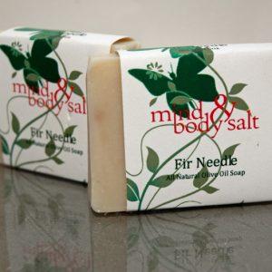 4.5 ounce bar of Fir Needle Soap
