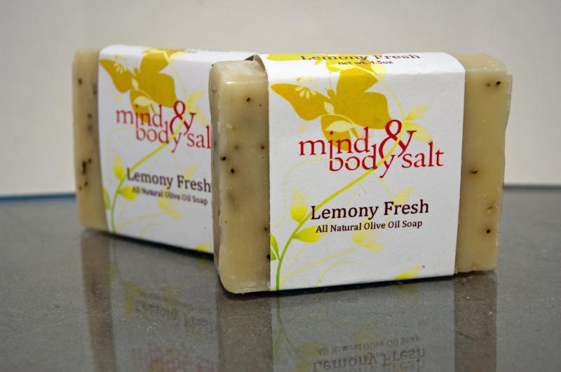 4.5 ounce bar of Lemony Fresh Soap