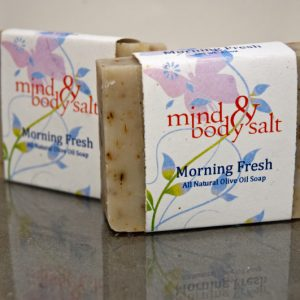 4.5 ounce bar of Morning Fresh Soap