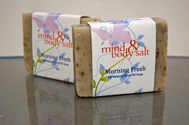 4.5 ounce bar of Morning Fresh Soap
